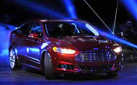 Ford Fusion & Ford Says Color of Your Car Can Keep You Alert Make You Feel Good azcodes.com