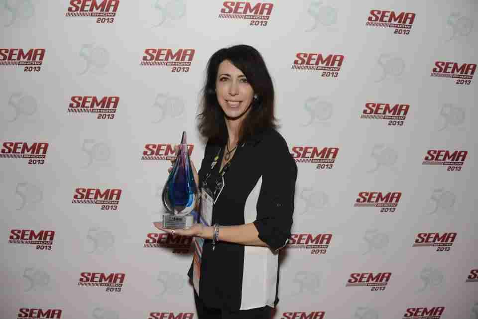 Lauren Fix award SEMA