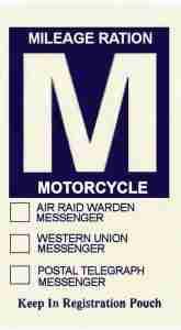 gas rationing M
