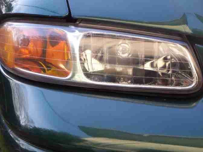 headlight cleaner after right