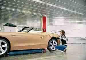 woman automotive design