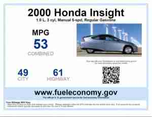 Compare EPA Fuel Ratings