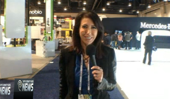YNN Lauren Fix at 2014 Consumer Electronics Show CES