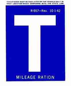 gas rationing T