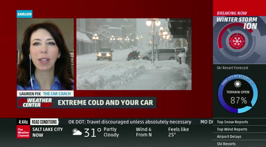 Lauren Fix on The Weather Channel