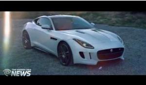 2013 LA Auto Show Jaguar F Type Coupe