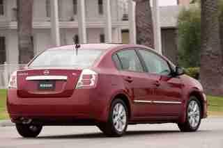 2010 Nissan Sentra back