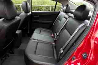 2010 Nissan Sentra backseat