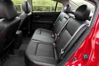 2010 Nissan Sentra backseat