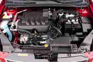 2010 Nissan Sentra engine