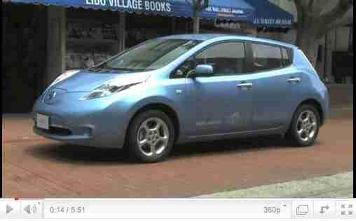 2011 Nissan Leaf Quick Car Review