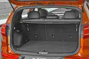 Kia Sportage trunk