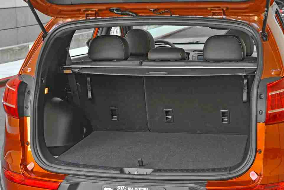 kia sportage 2013 interior trunk images galleries with a bite. Black Bedroom Furniture Sets. Home Design Ideas