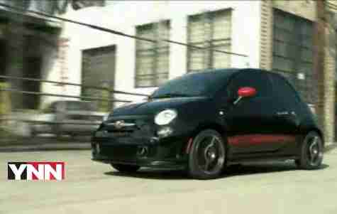 2012 Fiat 500 Abarth car review by Lauren Fix