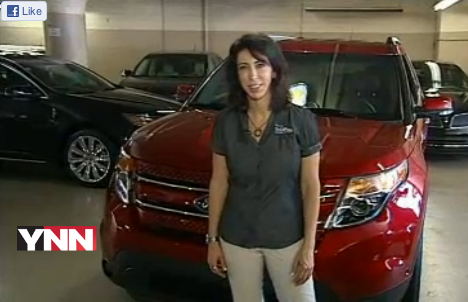 2012 Ford Explorer Limited car review by Lauren Fix