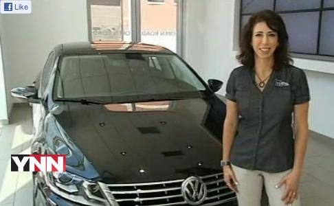 2013 Volkswagen CC LUX car review by Lauren Fix