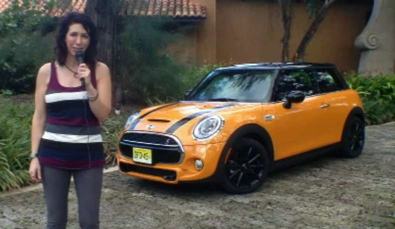 2014 MINI Cooper car review by Lauren Fix, The Car Coach