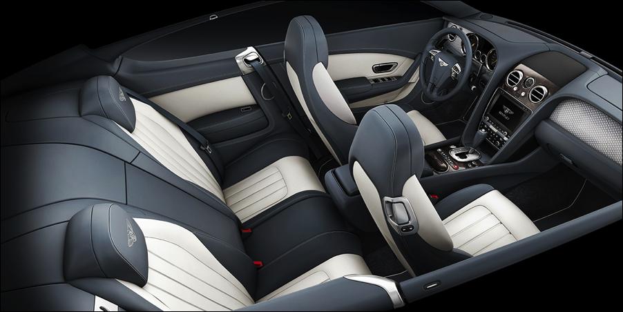 2014 Bentley Continental GT V8 S interior