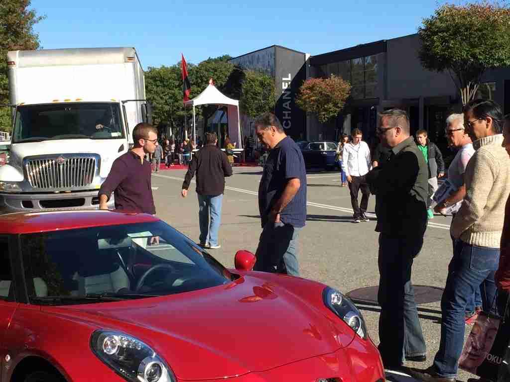 Alfa Romeo 4C car show