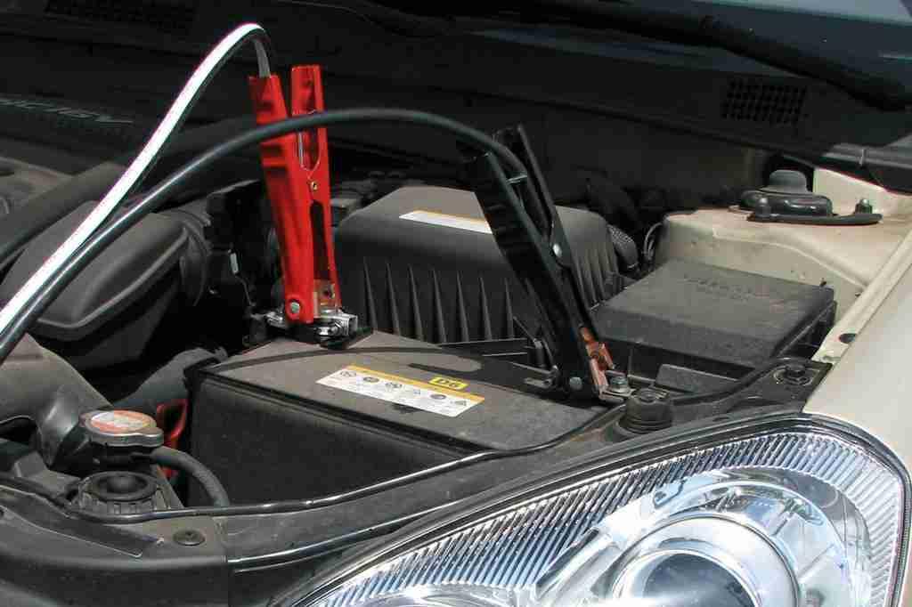jump car battery