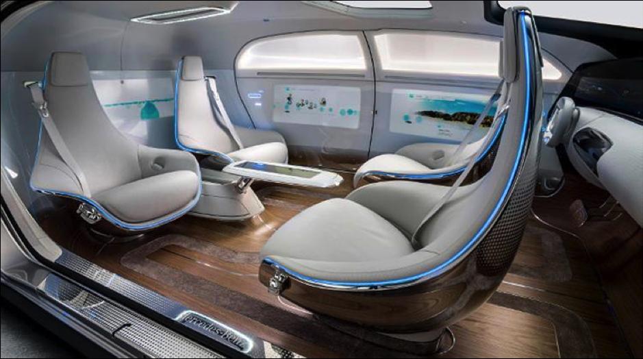 Mercedes autonomous interior future