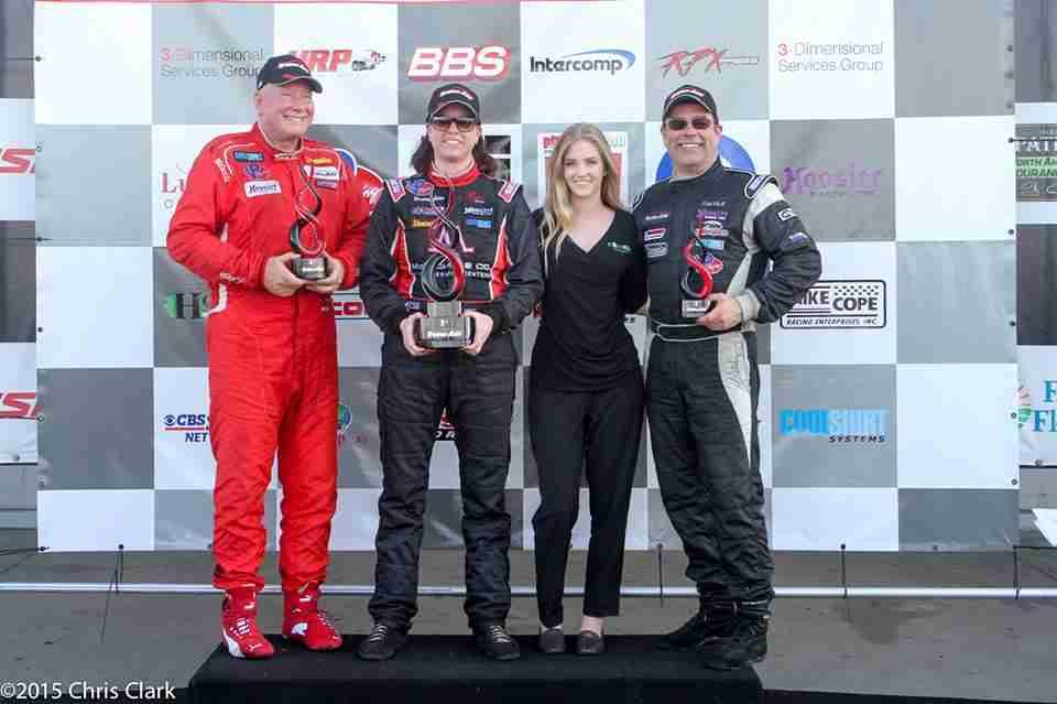 Sebring podium third place