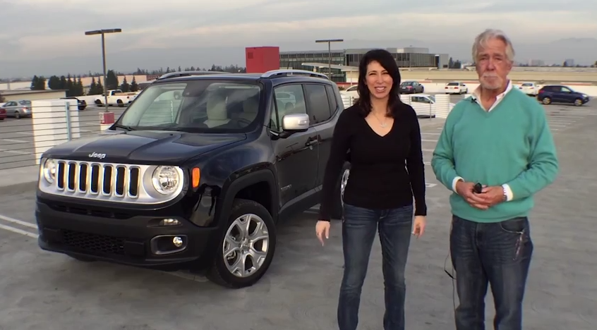 2015 Jeep Renegade car review with Lauren Fix and Paul Brian