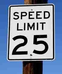 nyc speed limit