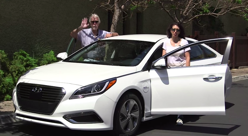 2016 Hyundai Sonata Hybrid & Plug In: His Turn - Her Turn Review