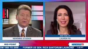 Lauren Fix on MidPoint, NewsMax TV