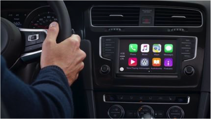 Volkswagen and App-Connect Car Technology Review