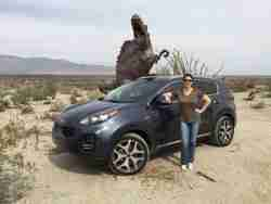 Test driving the 2016 Kia Sportage