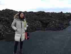 Lauren Fix in Iceland