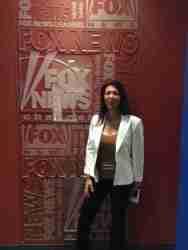 Lauren Fix at Fox News Studio in NY