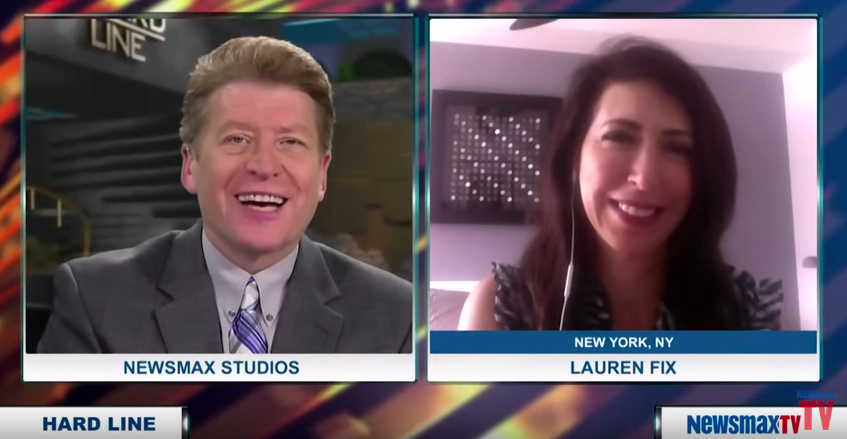 Lauren Fix on NewsmaxTV