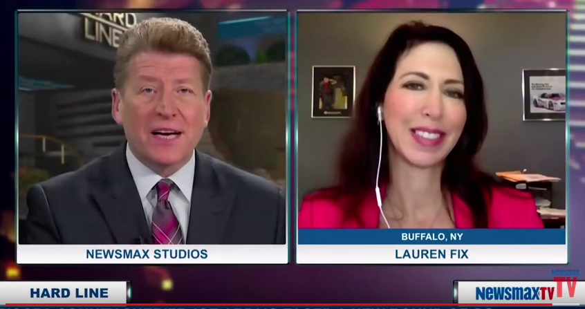 Lauren Fix on Newsmax TV