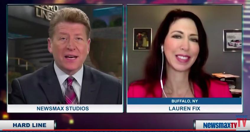 Lauren Fix on Newsmax TV