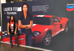 Lauren at Automotive Industry week
