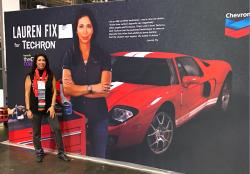 Lauren at Automotive Industry week