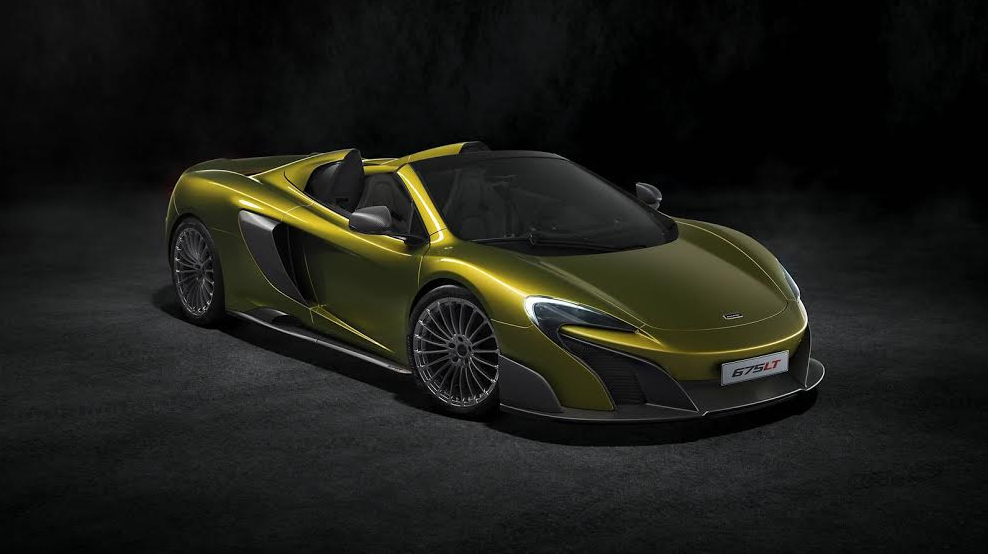 2016 Mclaren 675lt Spider By Matt Wetzel
