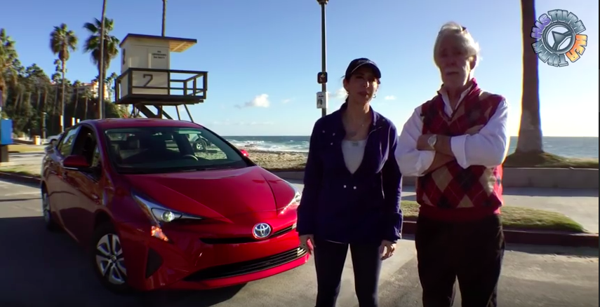 2016 Toyota Prius Hybrid: His Turn - Her Turn Car Review