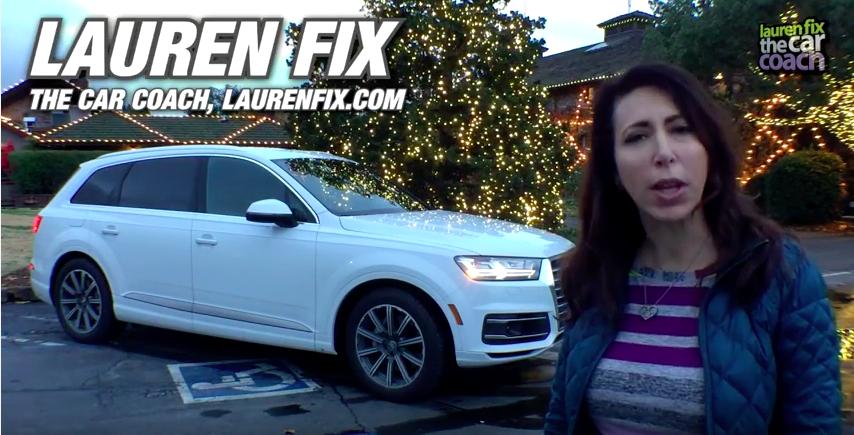 2017 Audi Q7 Car Review by Lauren Fix, The Car Coach