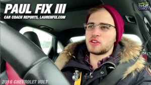 2016 Chevrolet Volt Review by Paul Fix III