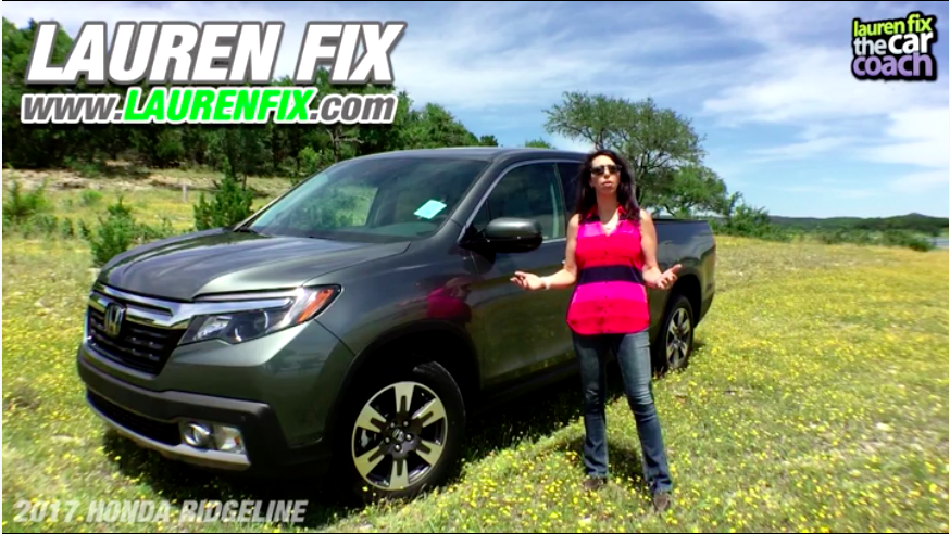 2017 Honda Ridgeline Car Review by Lauren Fix, The Car Coach