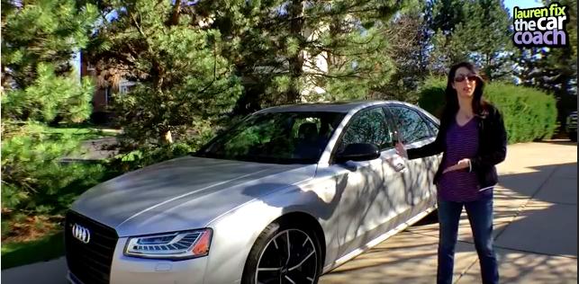2016 Audi S8 Plus Car Review by Lauren Fix, The Car Coach