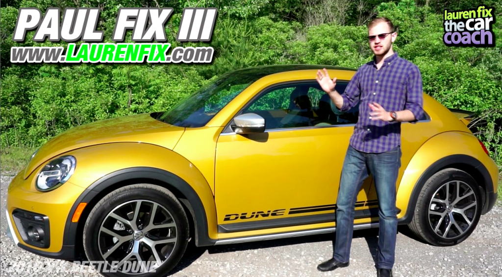 2016 VW Beetle Dune Car Review by Paul Fix III