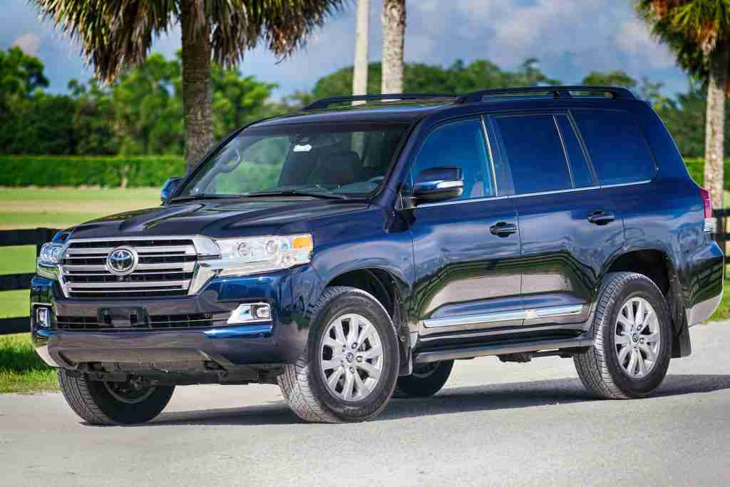 2016 Toyota Land Cruiser 4WD SUV - Mark Elias