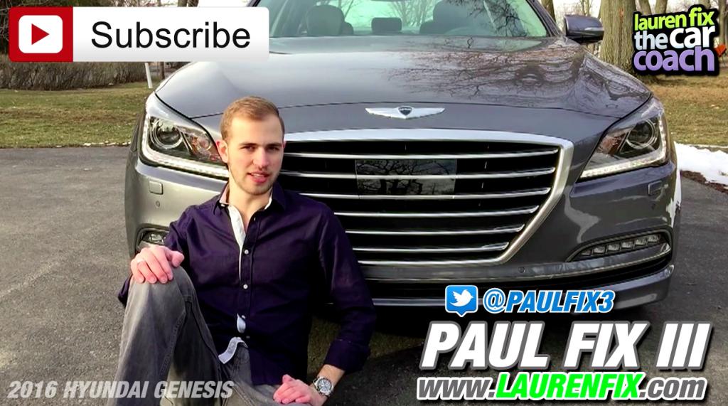 2016 Hyundai Genesis Car Review by Paul Fix III
