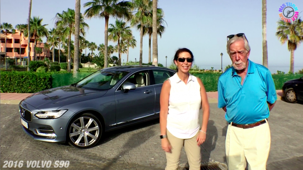 2017 Volvo S90 & Volvo V90: His Turn-Her Turn™ Expert Car Review