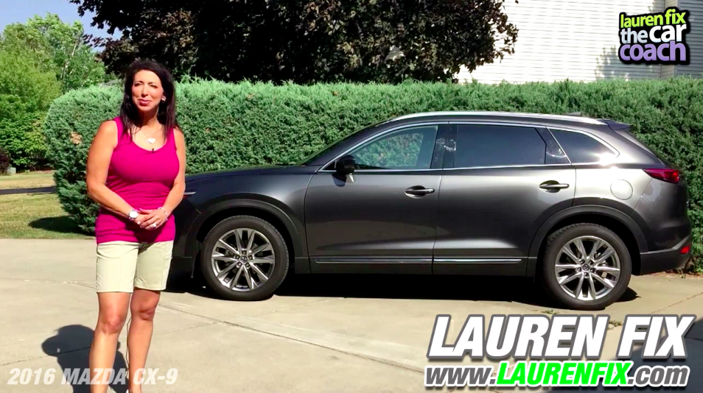 2016 Mazda CX-9 Car Review by Lauren Fix, The Car Coach®